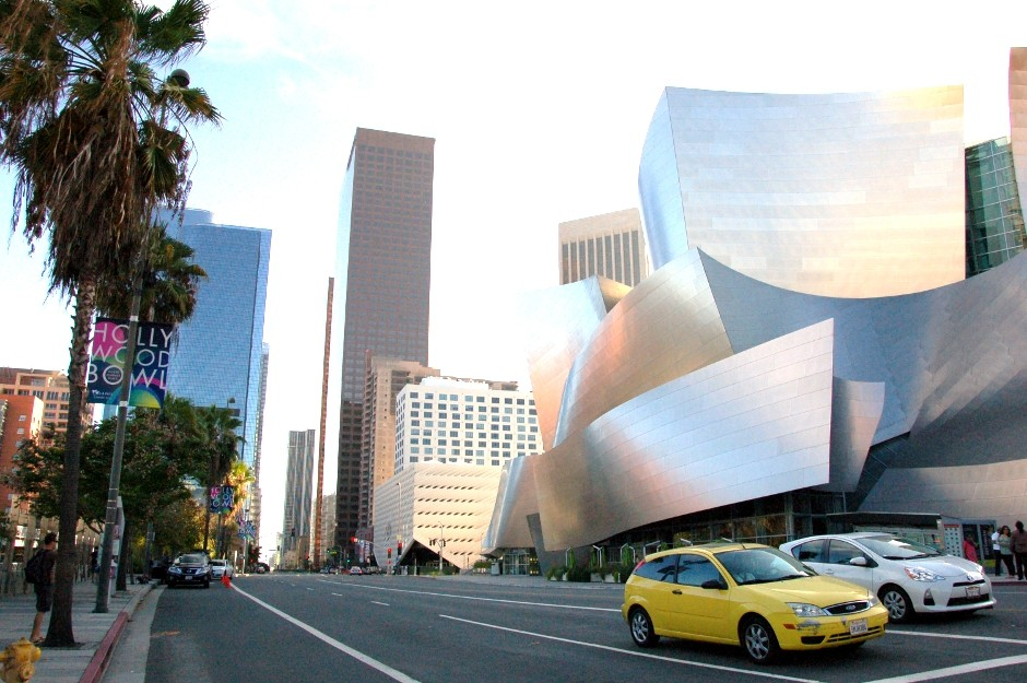 Downtown, Los Angeles, Walt Disney Concert Hall