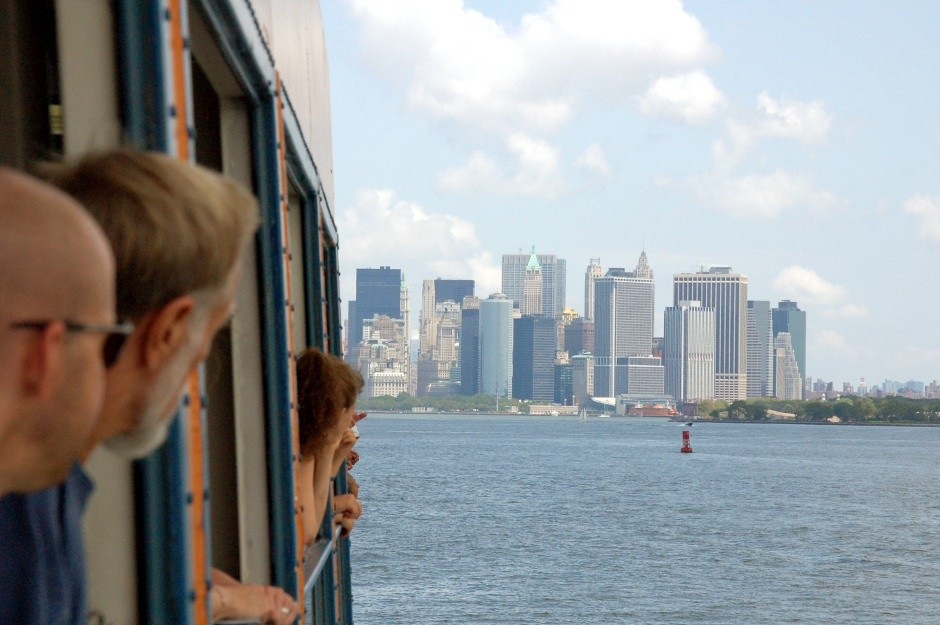 New York, Manhattan, Staten Island Ferry