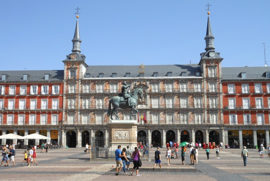 Espagne, Madrid, Plaza Mayor