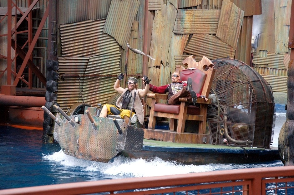 Universal Studios, Los Angeles, Waterworld