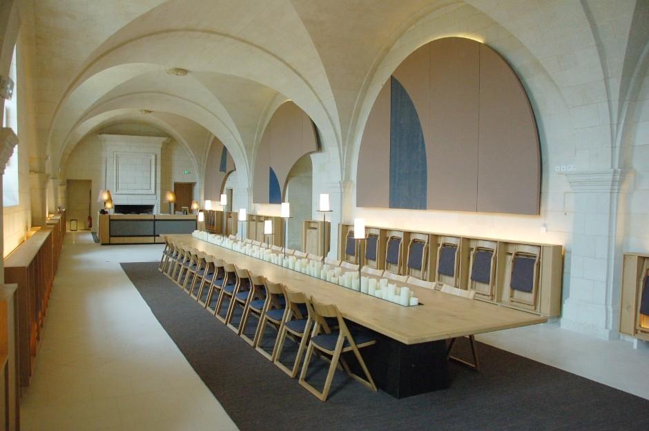 L abbaye de fontevraud 7h09 - Hotel abbaye de fontevraud ...